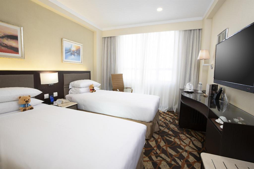 Standard - Bed Metropark Hotel Kowloon