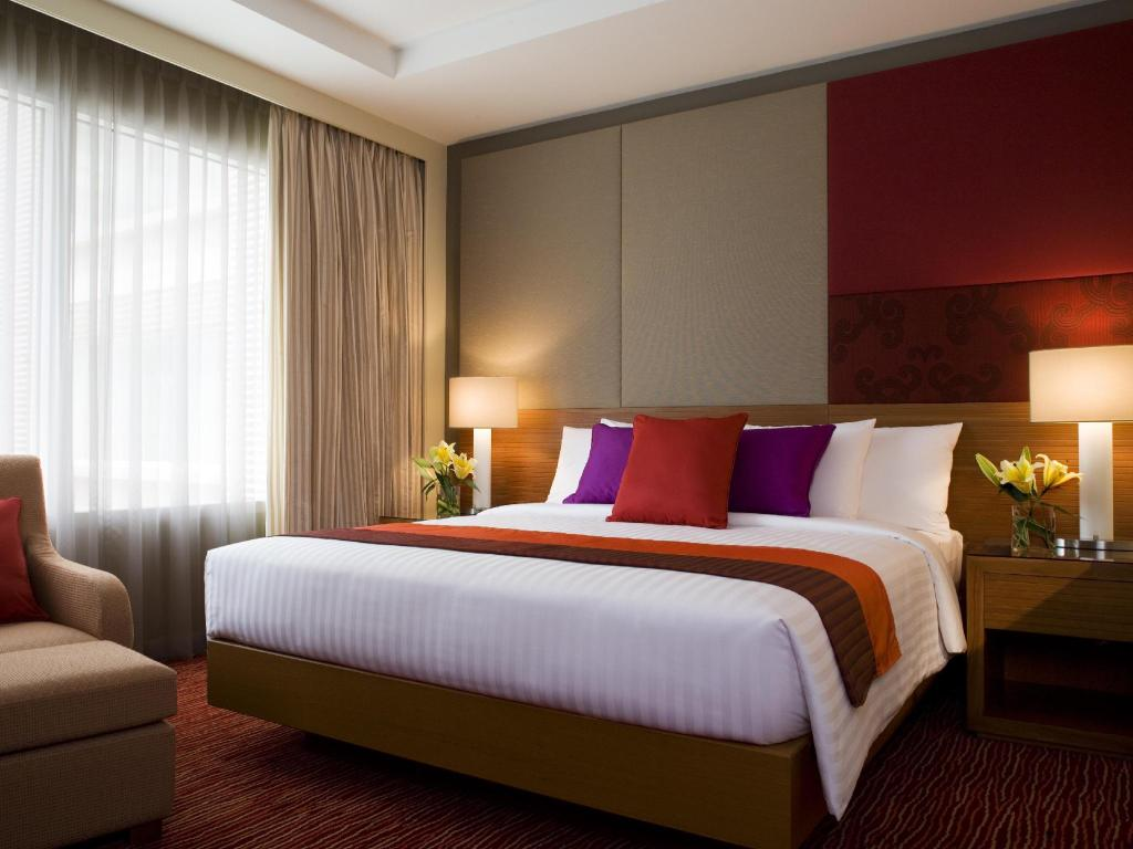 Deluxe, Guest room, 1 King or 2 Twin/Single Bed(s) - Utsikt Courtyard by Marriott Bangkok
