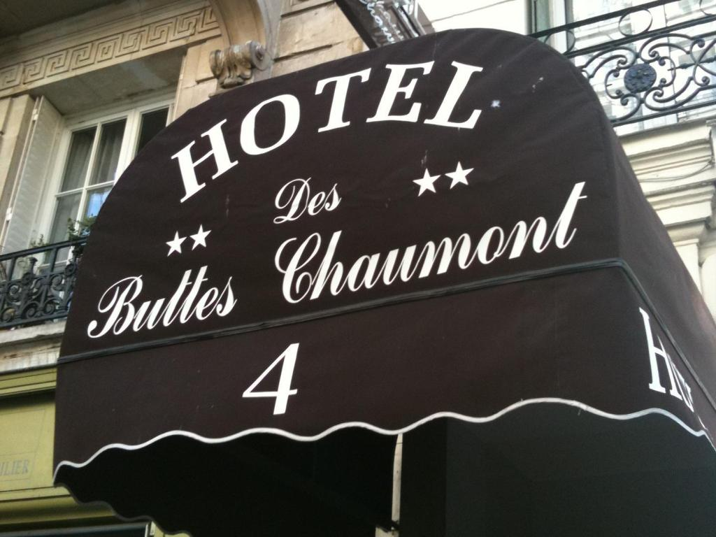 Meer over Hotel Buttes Chaumont