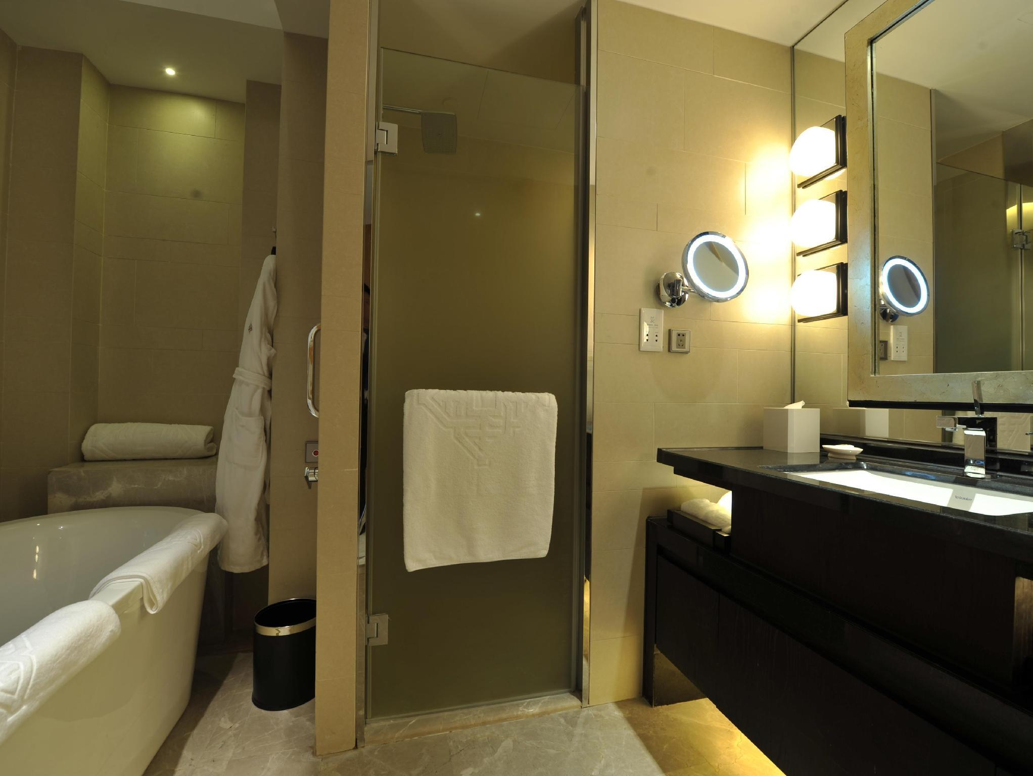 Стая Jinling Eкзекютив с 2 единични легла – Asia Pacific Tower (Jinling Executive Room Twin Beds - Asia Pacific Tower)