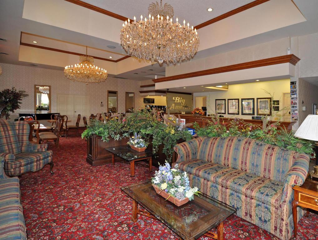 Lobby Best Western Plus Big America