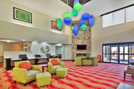Лобби Holiday Inn Express Harrisburg NE
