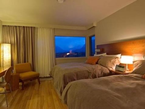 Quarto Deluxe King com vista para a montanha (Deluxe King Room with Mountain View)