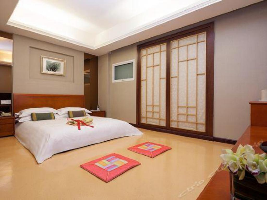Traditionellt koreanskt ondolrum - Gästrum Highton International Hotel
