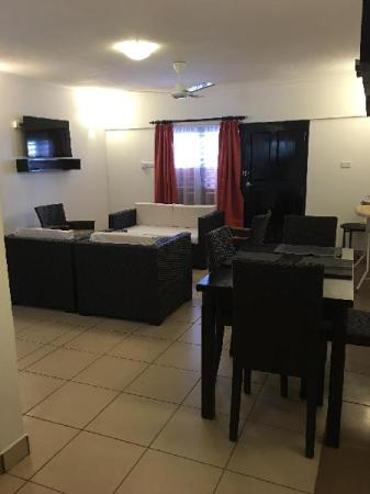 Hotellet indefra Suva Motor Inn