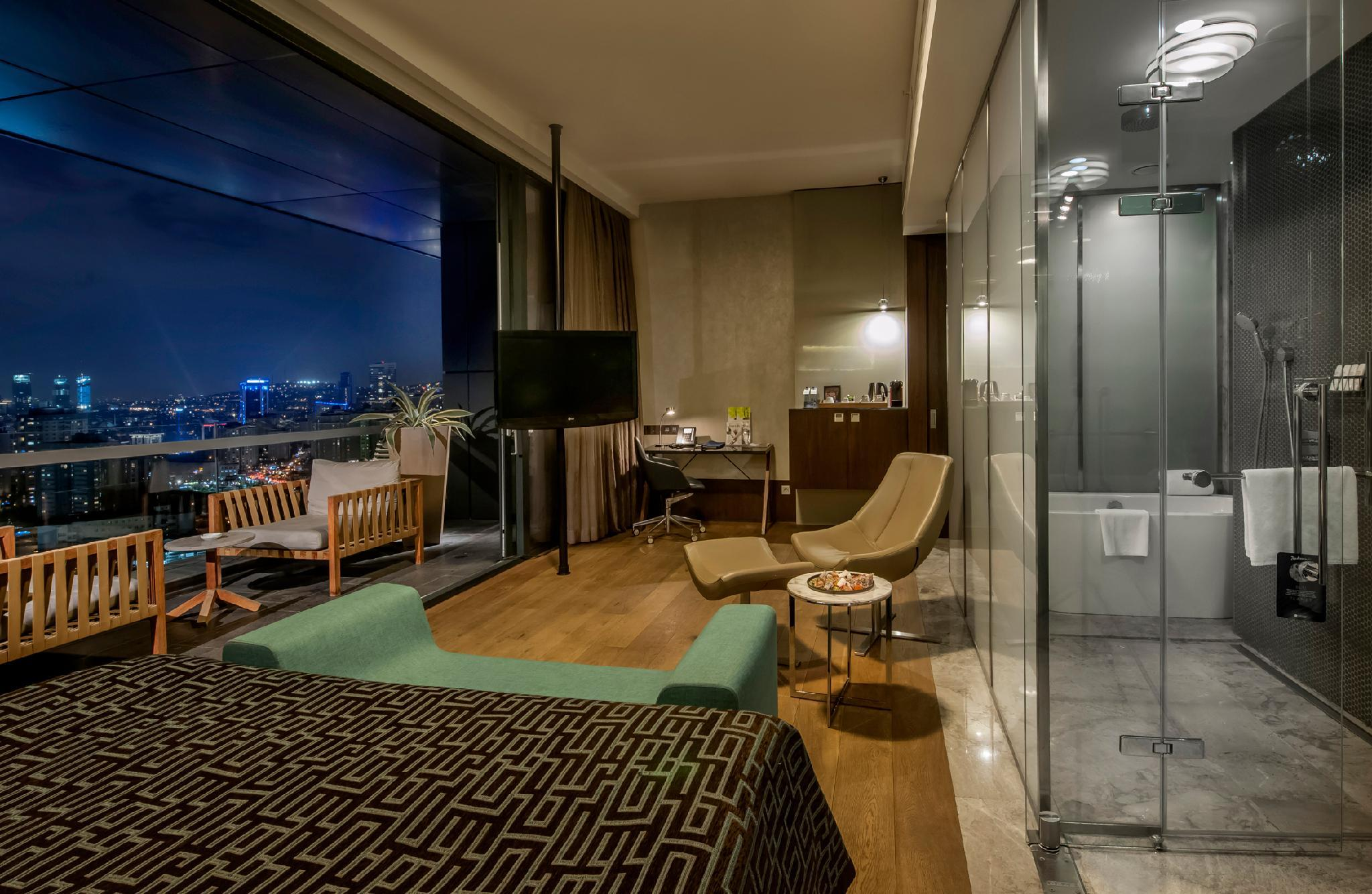 Junior Suite vista para a cidade (Junior Suite City View)