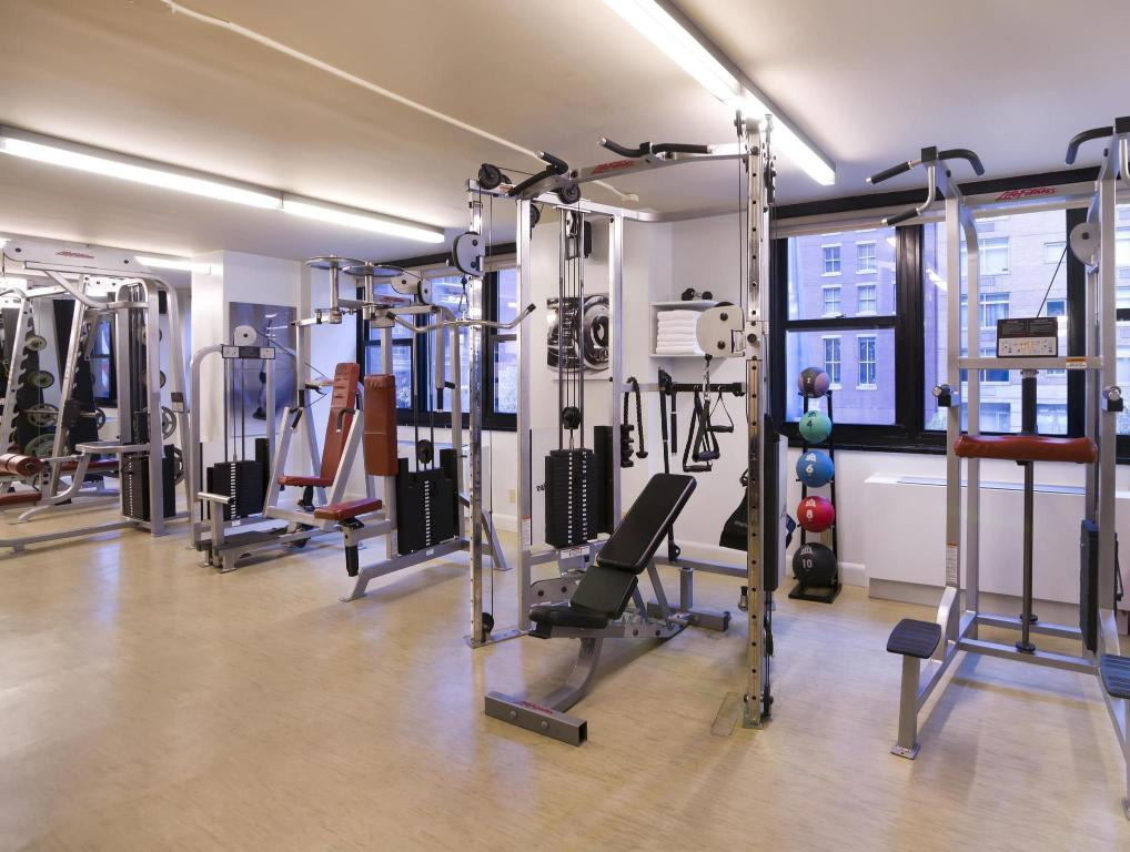 Fitnesa centrs Dumont NYC-an Affinia Hotel