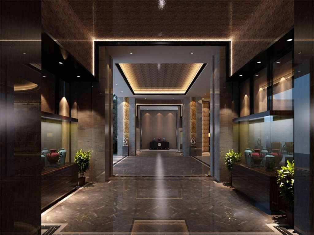 Lobby Xiamen Wanjia International Hotel