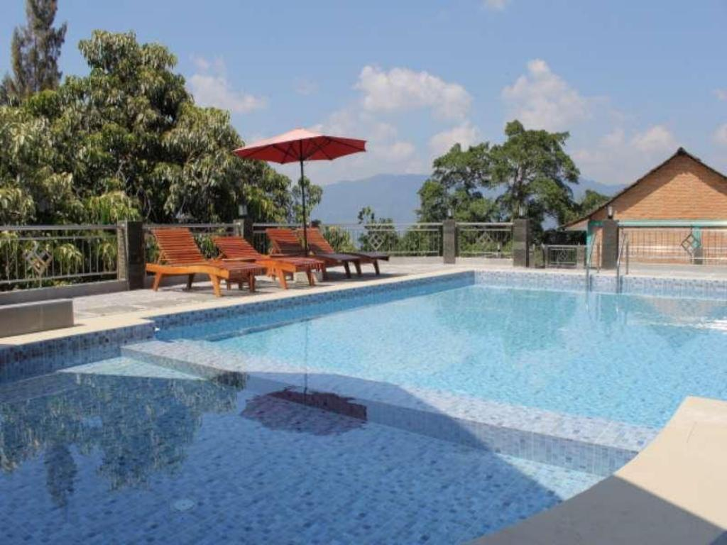 Swimmingpool Samosir Cottages Resort