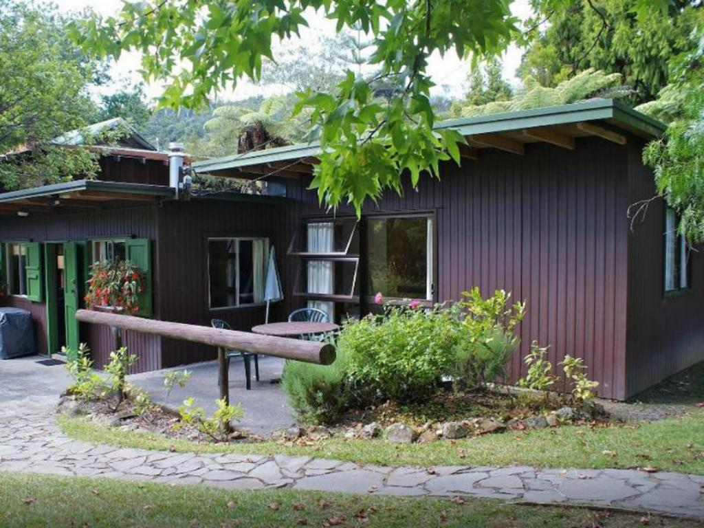 Utvendig Rapaura Water Gardens Boutique Accommodation
