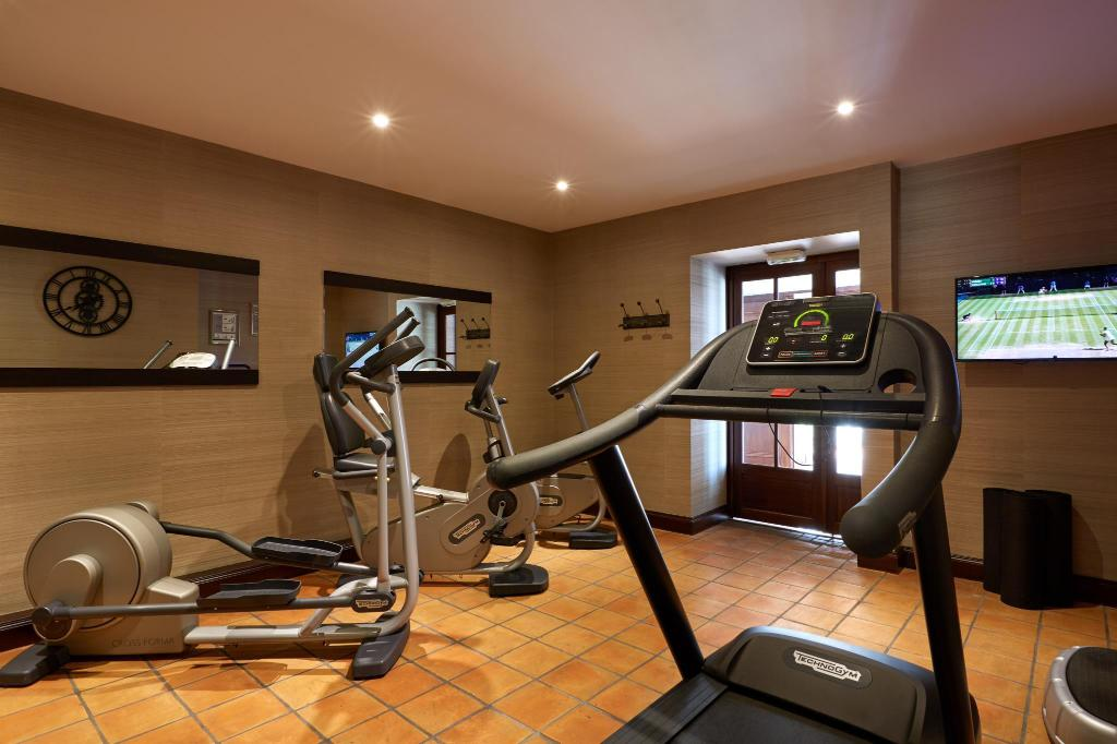 fitness centrum Chateau Hotel Grand Barrail