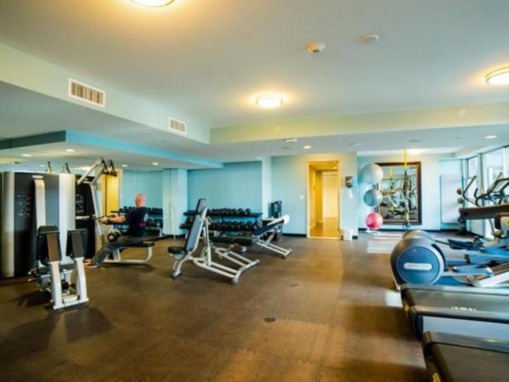 Fitness center Downtown Fidelio Apartment