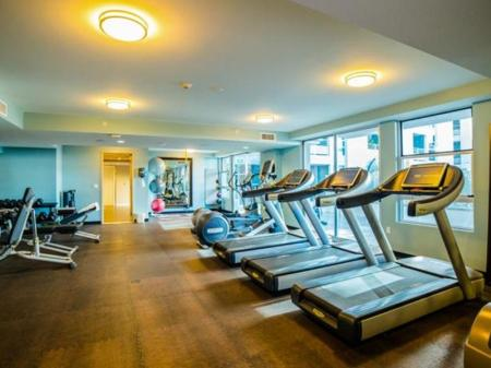 Fitness center Downtown Amadeus Apartment