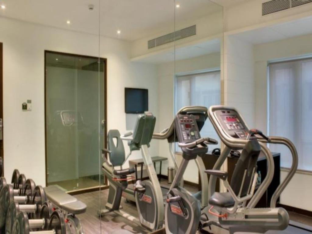 Fitness center The Sahil Hotel