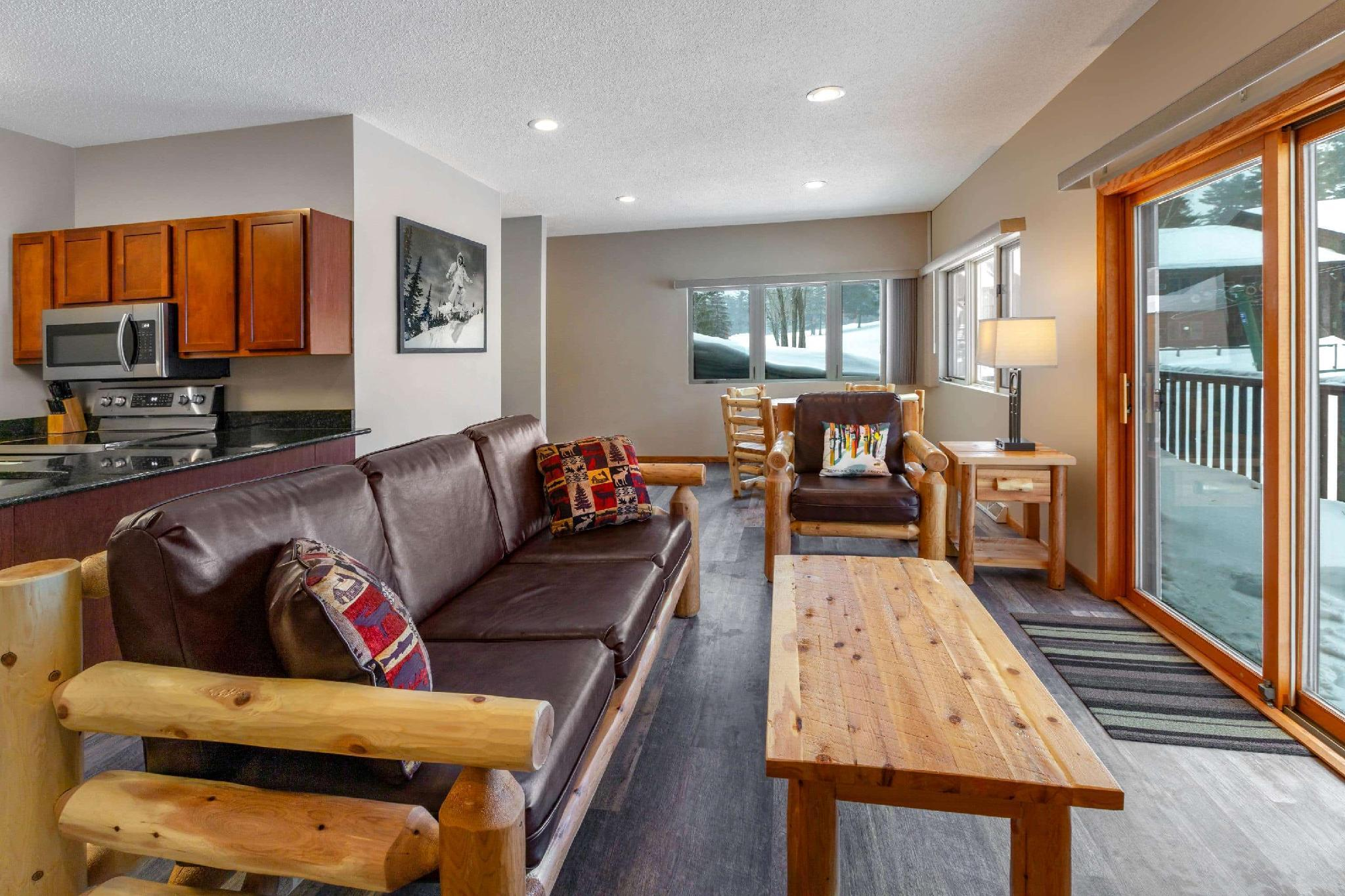 1 King Bed and 2 Double Beds, Two-Bedroom, Mountain Haus Suite, Non-Smoking