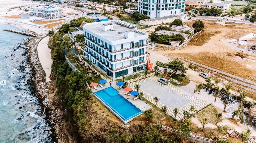 khách sạn lý sơn view biển