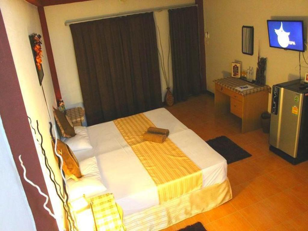 Hotellet indefra Thai Orange Spa