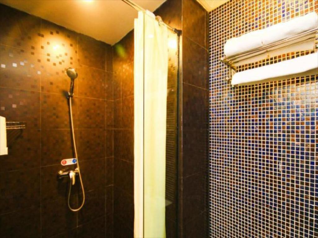 Bathroom Hanting Hotel Hangzhou East Railway Station North Qiutao Road Branch