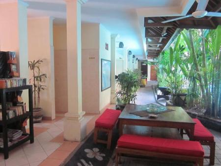 Interior view Secret Garden Inn Kuta