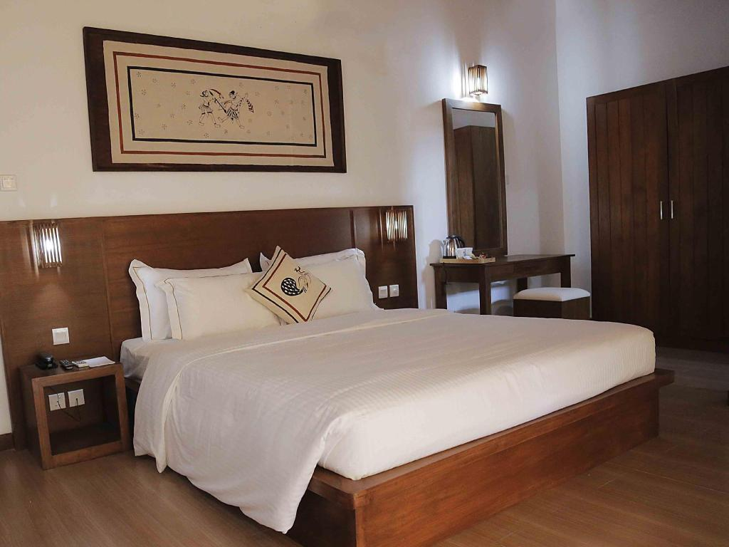 Deluxe Double Room with Balcony Hotel Tamarind Tree