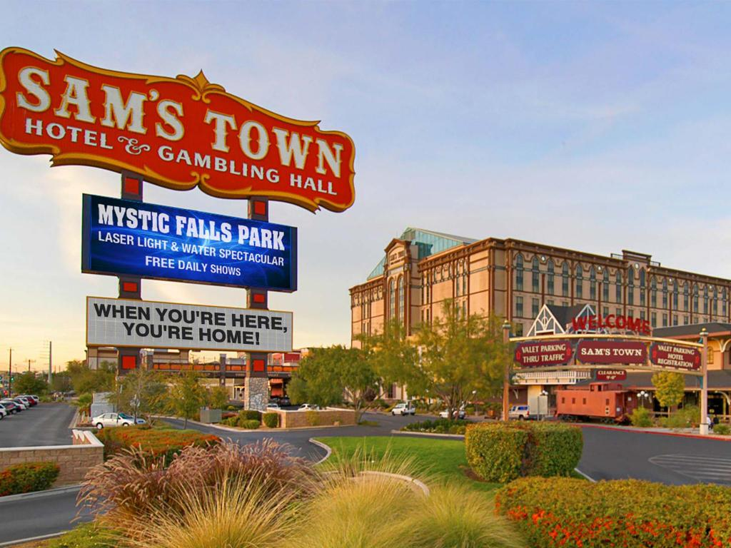 More About Sams Town Hotel And Hall
