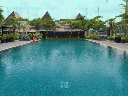 Swimming pool Habitat at Hyarta Yogyakarta