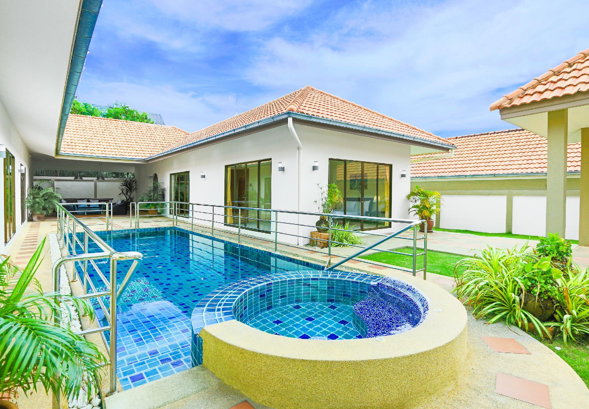 Deluxe Four-Bedroom Villa with Private Pool