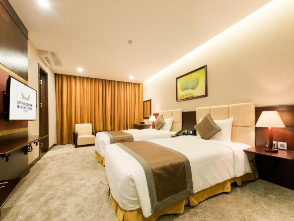 Superior Twin Muong Thanh Hanoi Centre Hotel