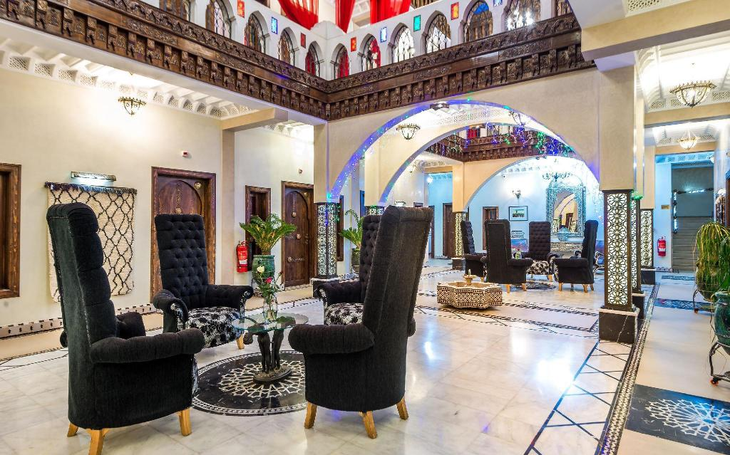 Lobby Hotel & Ryad Art Place Marrakech