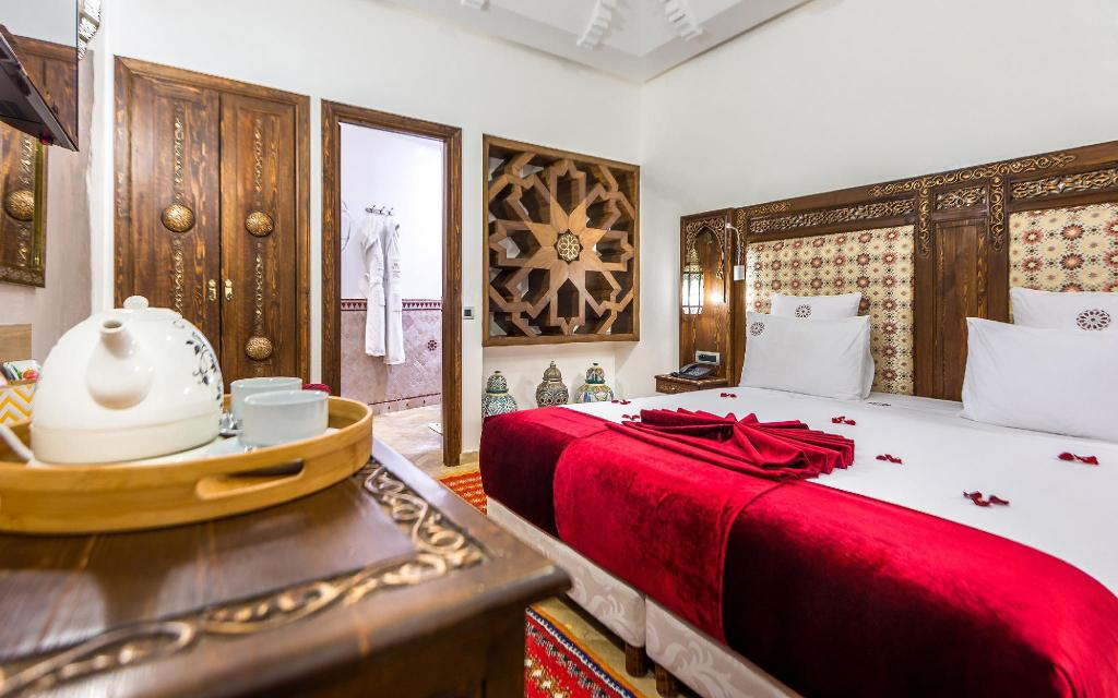 Deluxe Room - Bed Hotel & Ryad Art Place Marrakech