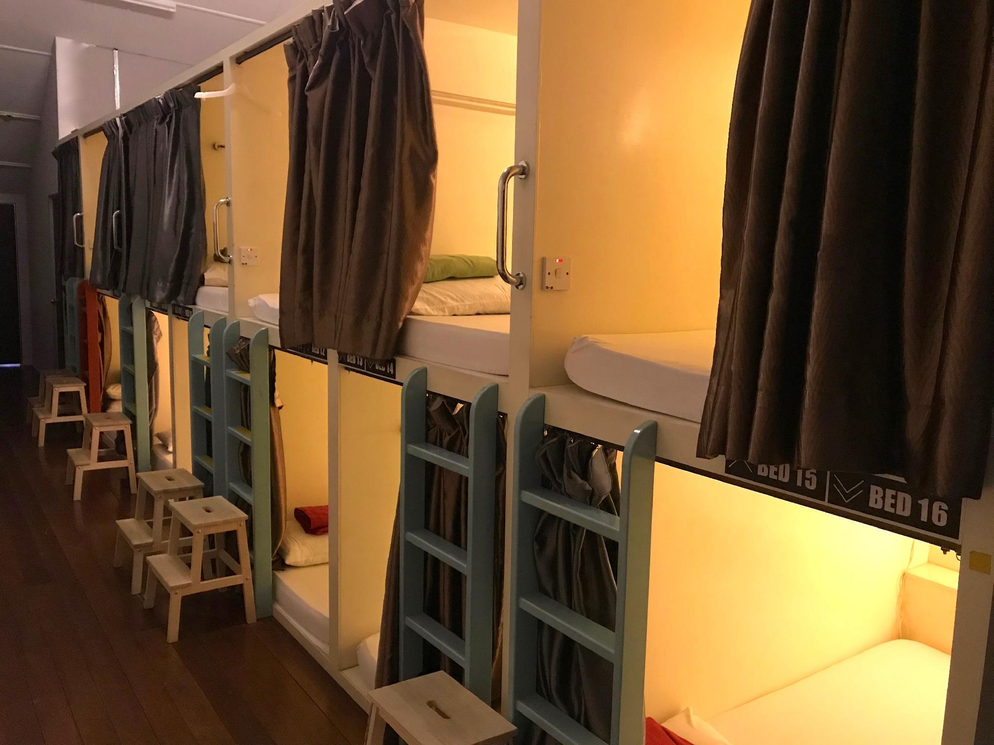 Mixed Dormitory with Double bed