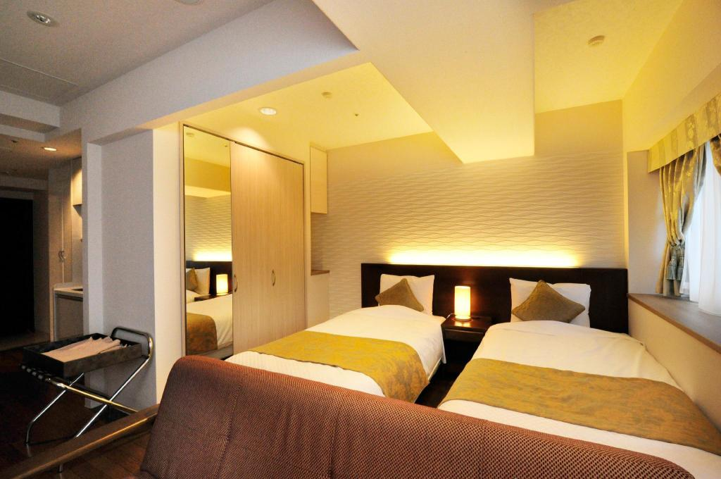 Deluxe Twin - Non-Smoking - Room plan Hotel Paco Hakodate