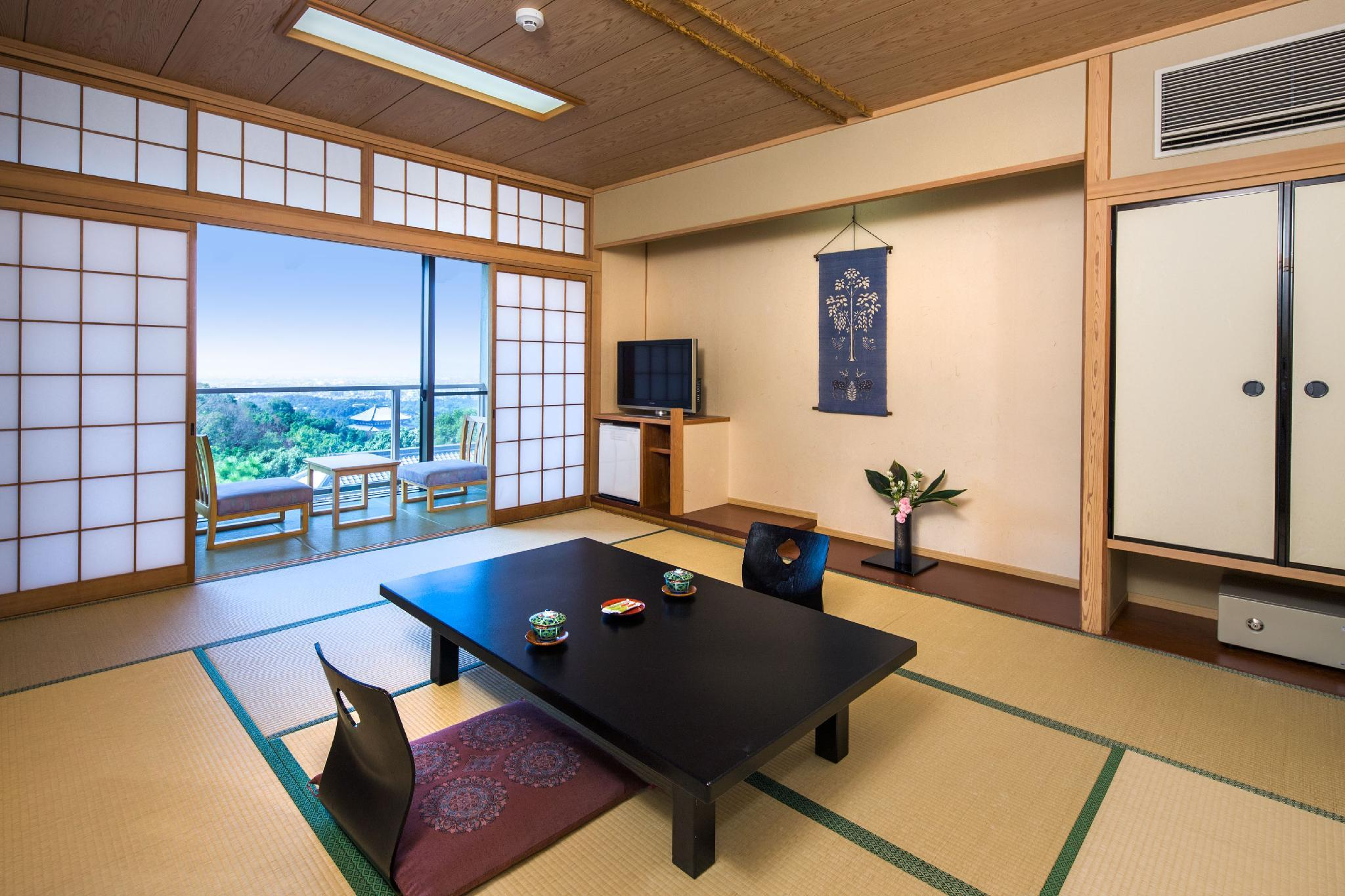 Japanese-Style Room with View