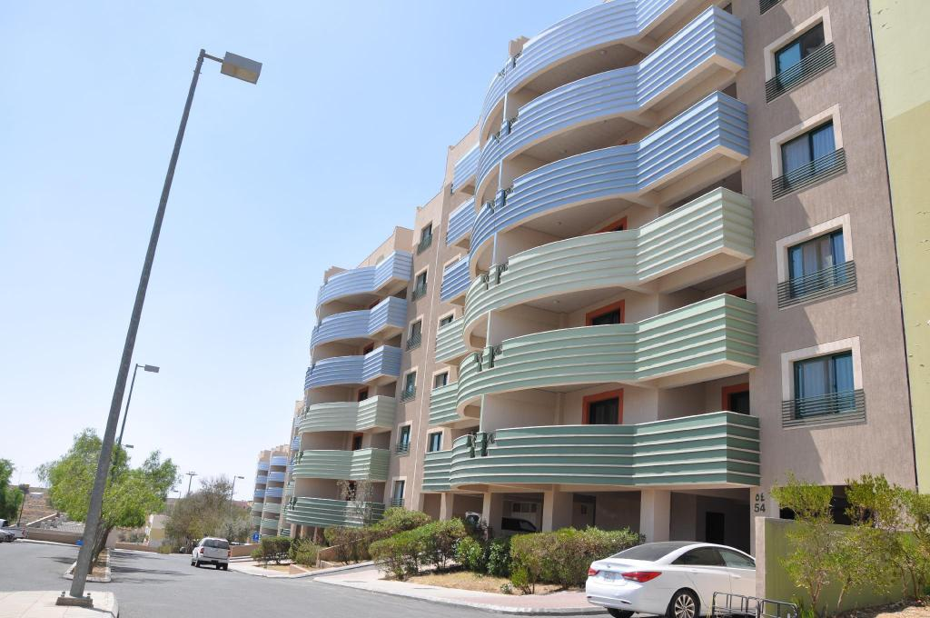 Budynek hotelu New Abha Apartment
