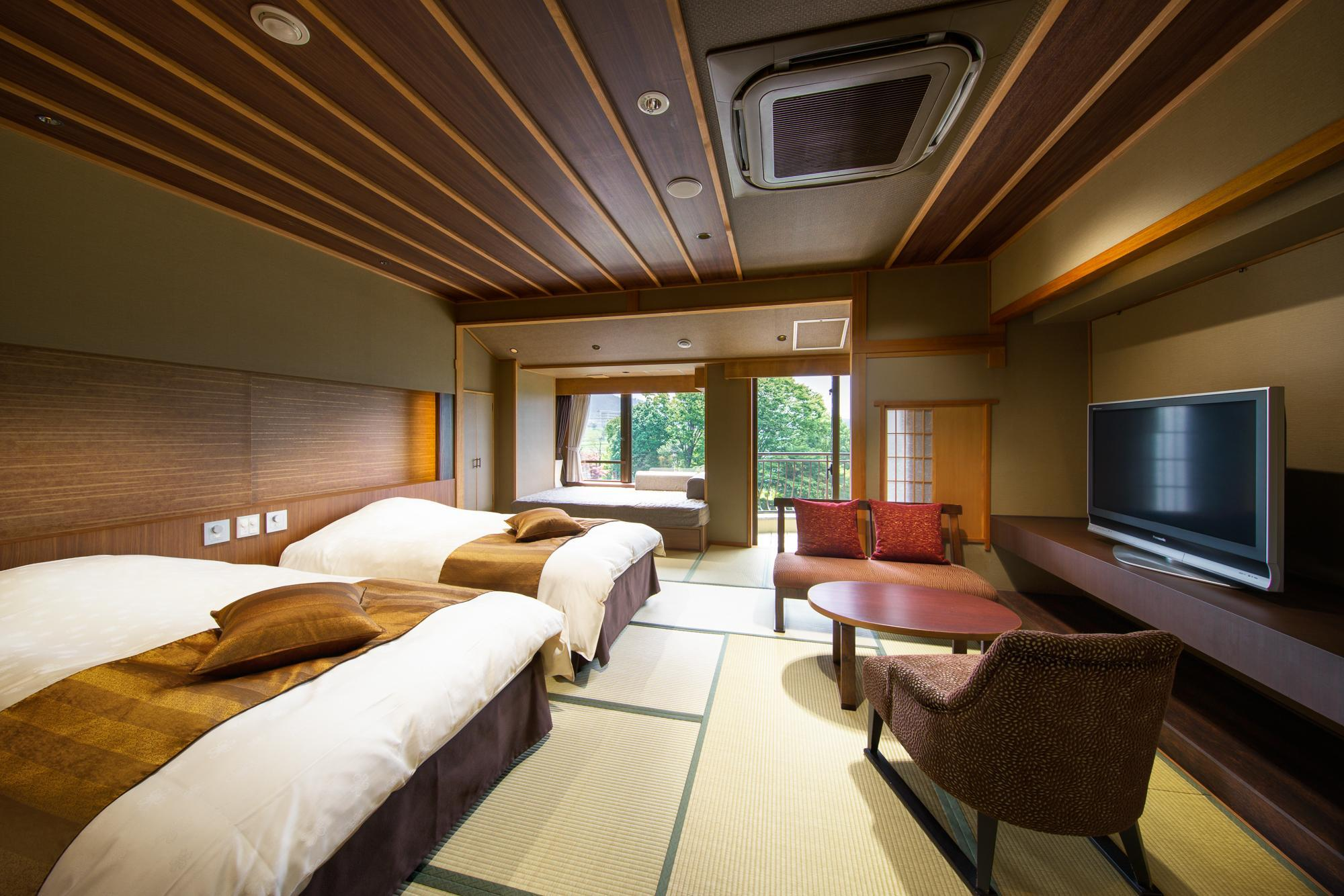 Seseragi-tei Mount Fuji View Japanese Style Twin Room - Non-Smoking