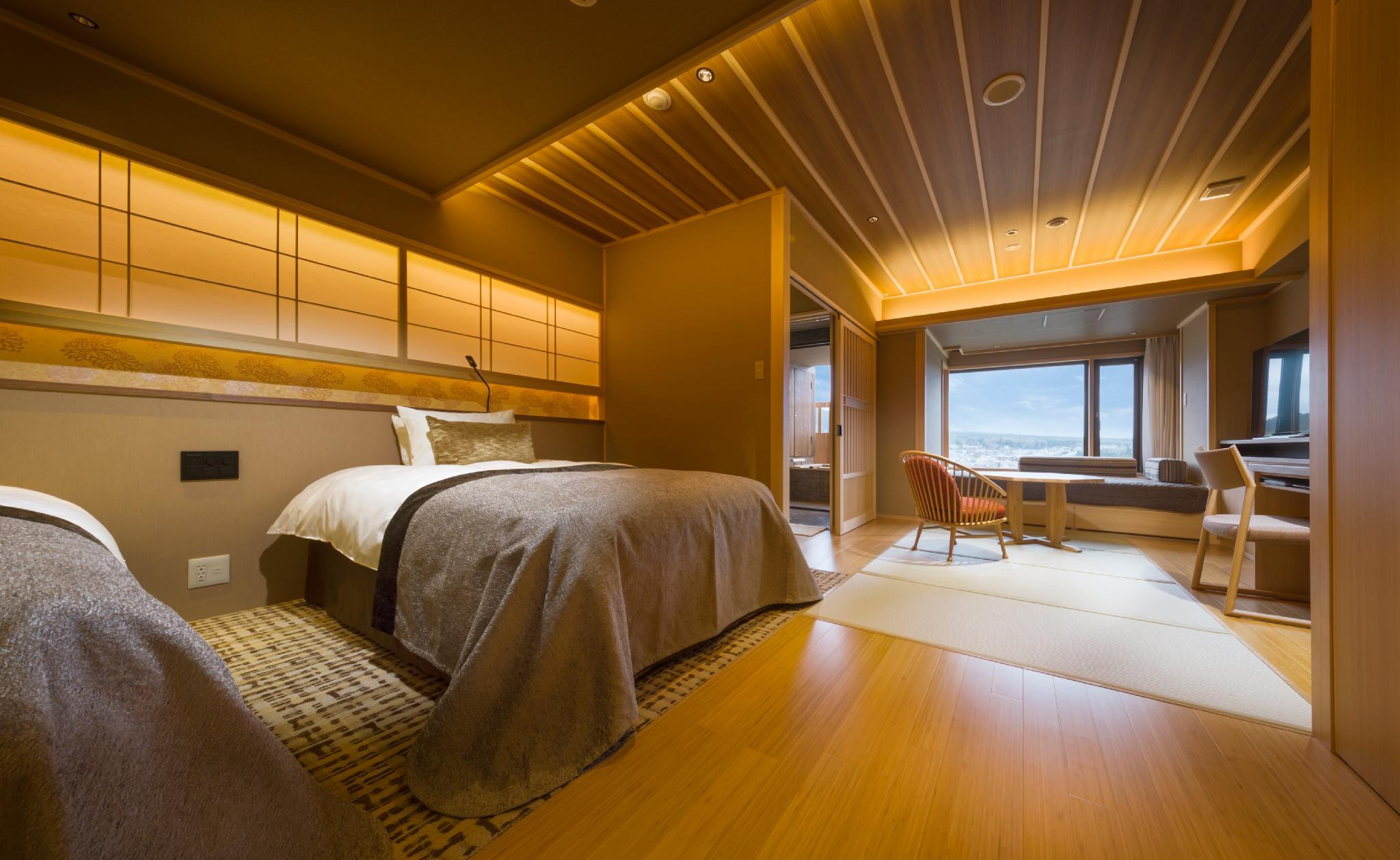 Sanri Mount Fuji View Modern Japanese Style Room with Open-Air Bath - Non-Smoking