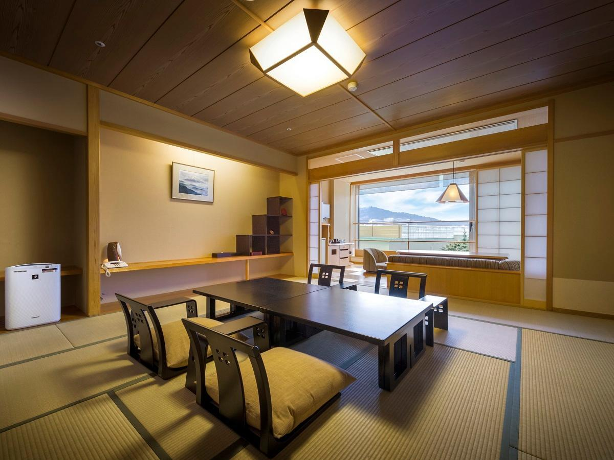 Yuraku Yamabiko-tei Mount Fuji View Japanese Style Room with Open-Air Bath - Non-Smoking