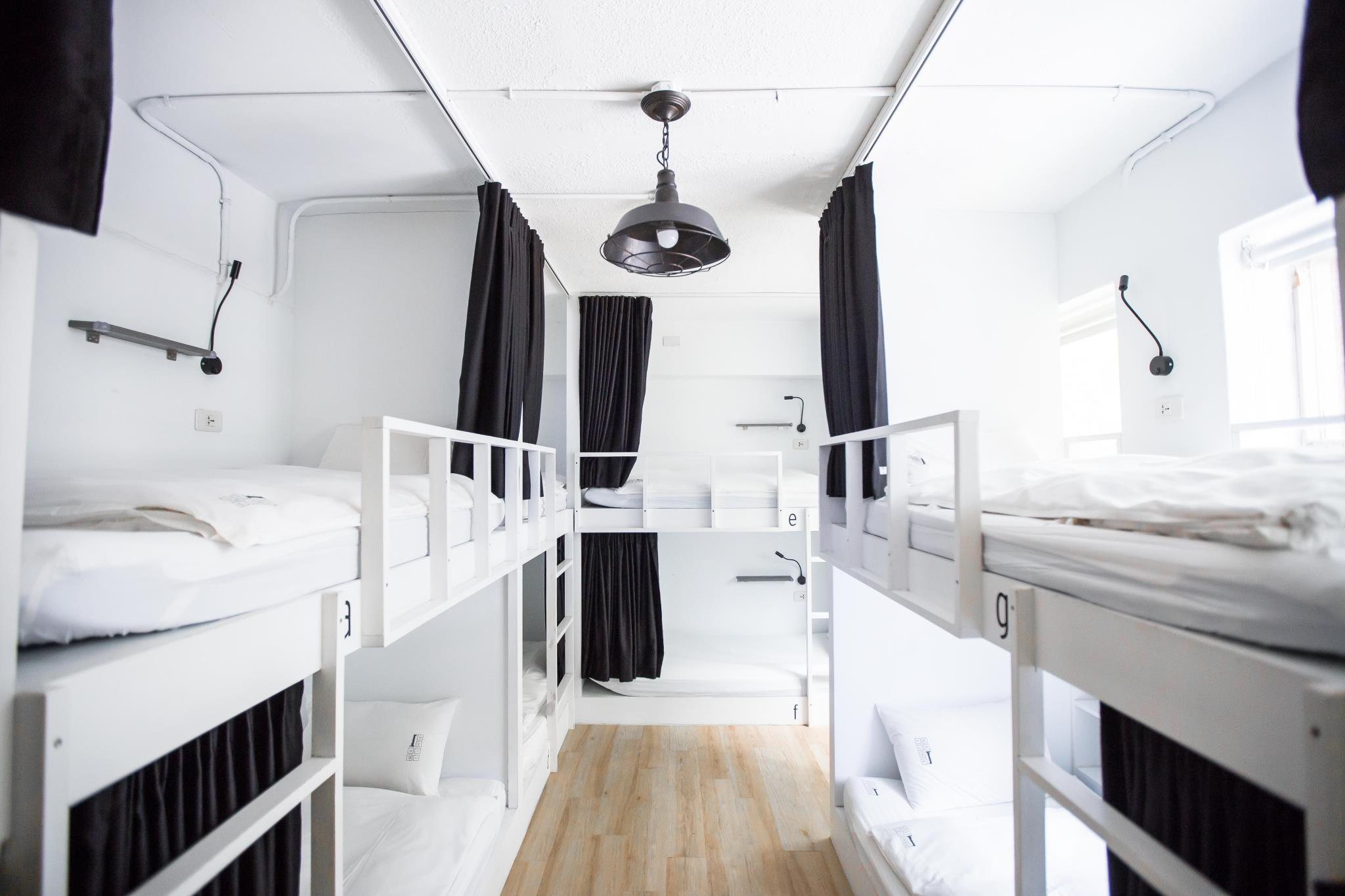 8-Bed Mixed Dormitory with Shared Bathroom