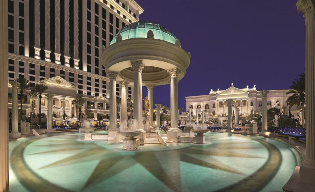 More About The U Hotel At Caesars Palace