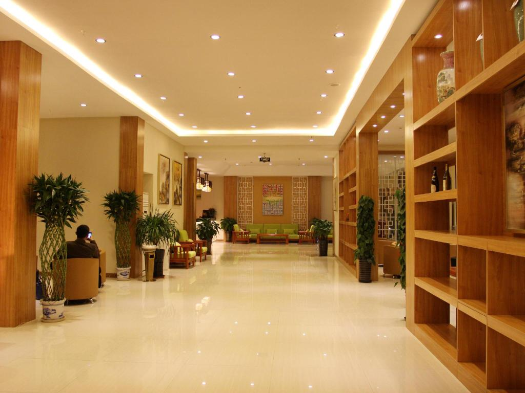 Лоби Beijing Yamei International Hotel