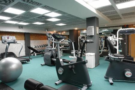 Fitness center Renaissance St. Petersburg Baltic Hotel