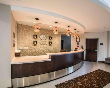 Lobby Comfort Suites Fort Lauderdale Airport South & Cruise Port
