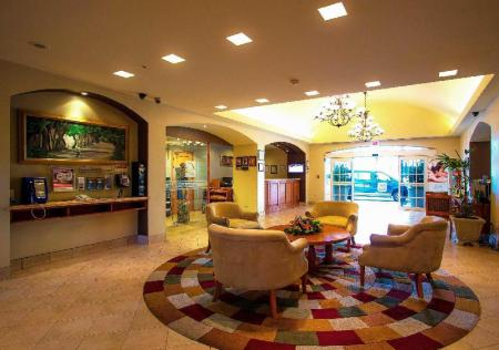Lobby Sleep Inn Paseo Las Damas San Jose