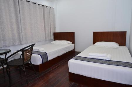 Twin with Shared Bathroom - Bed Agga Bed & Breakfast