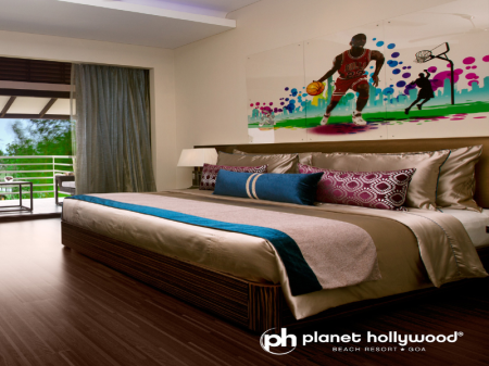 Superior Room - Bed Planet Hollywood Beach Resort Goa