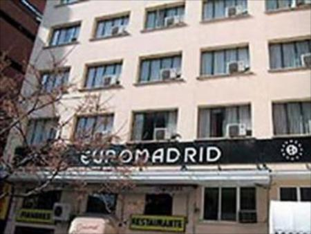 Exterior view Madrid Motion Hostels