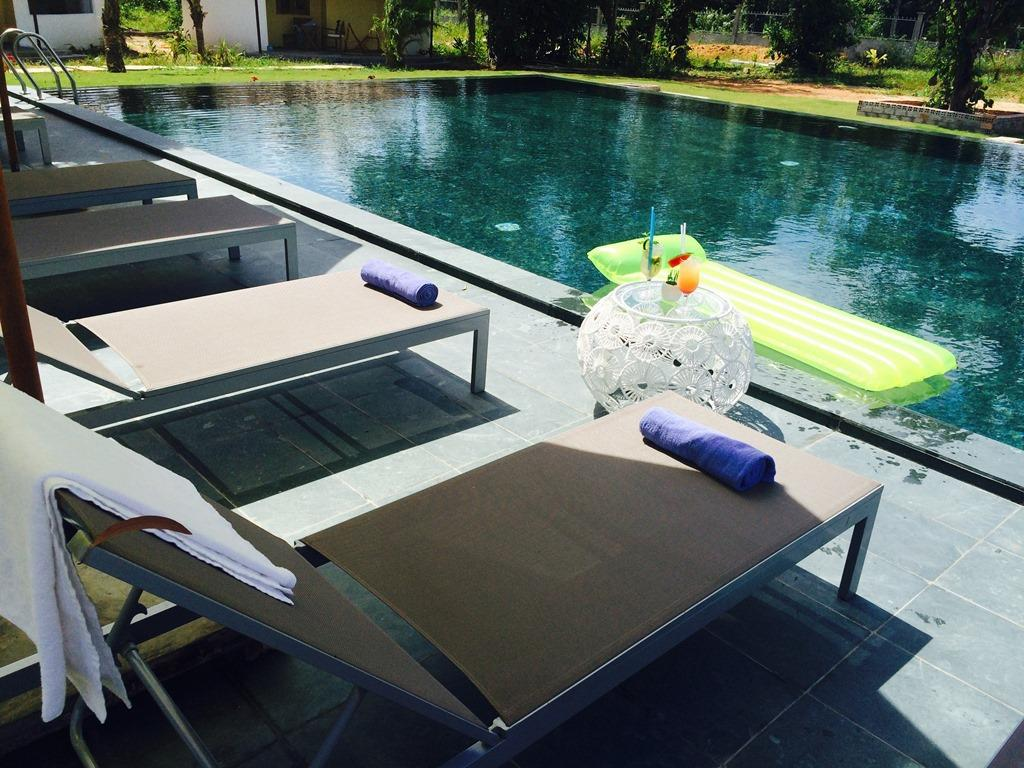 Swimming pool Ninila Fruitfarm Phu Quoc Guesthouse