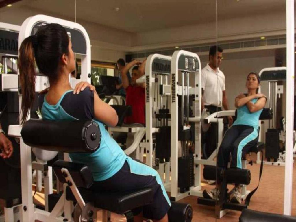 Fitness center Sun N Sand Mumbai Hotel