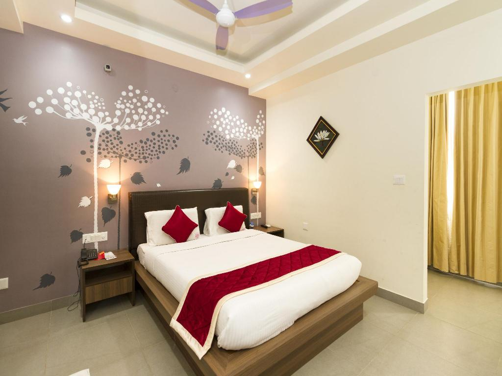 Hotellet indefra OYO Rooms Old Airport Road