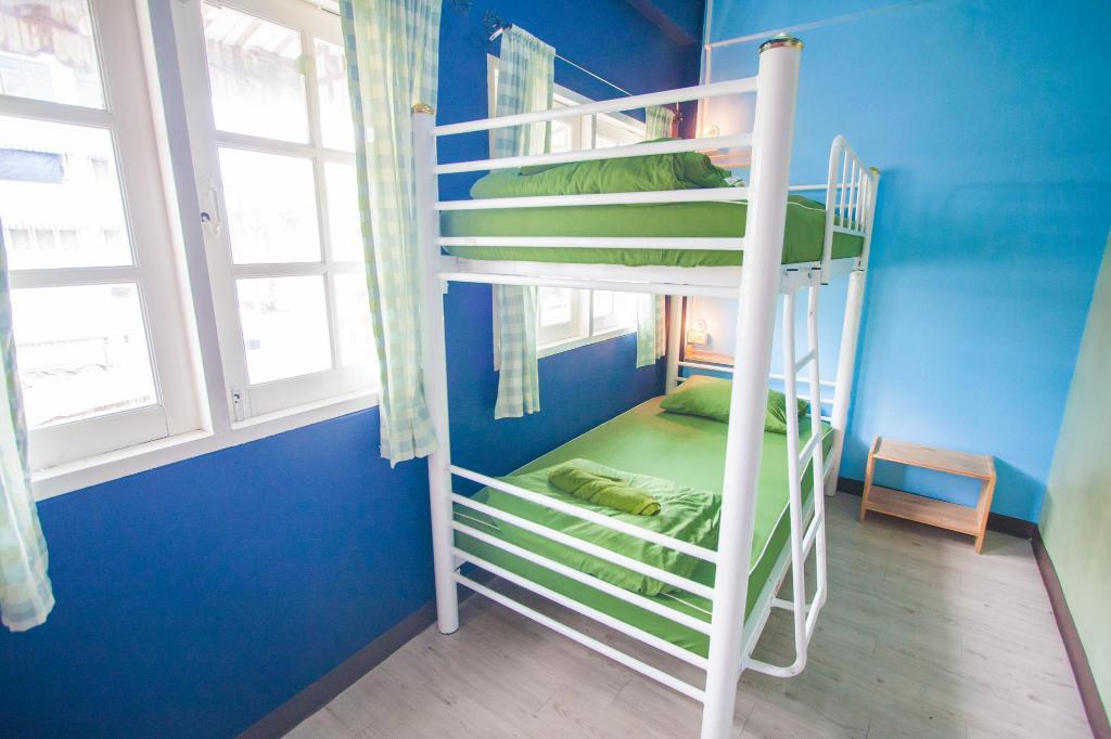 1 Person in 2-Bed Dormitory - Mixed Nacorn Hostel Khaosan